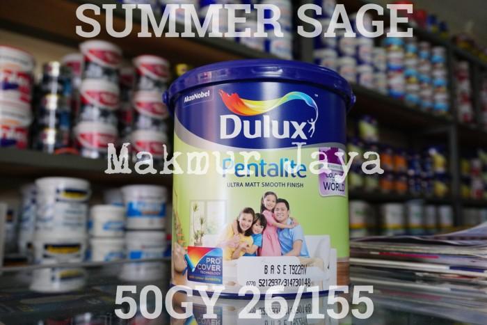 harga Dulux pentalite summer sage 50gy 26/155 cat tembok interior Tokopedia.com