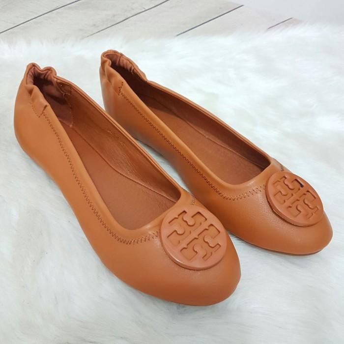 Sepatu 008-1 flat shoes tory burch