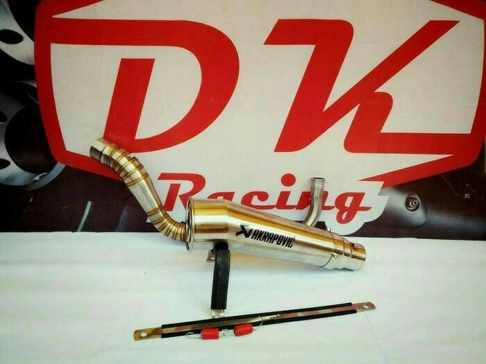 harga Knalpot racing yamaha mio j akrapovic megaphone Tokopedia.com