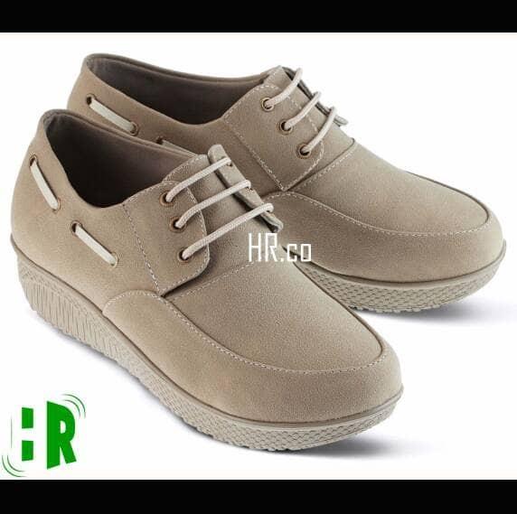 harga Sepatu wanita wedges boots suede casual kuliah distro low boot cewek Tokopedia.com