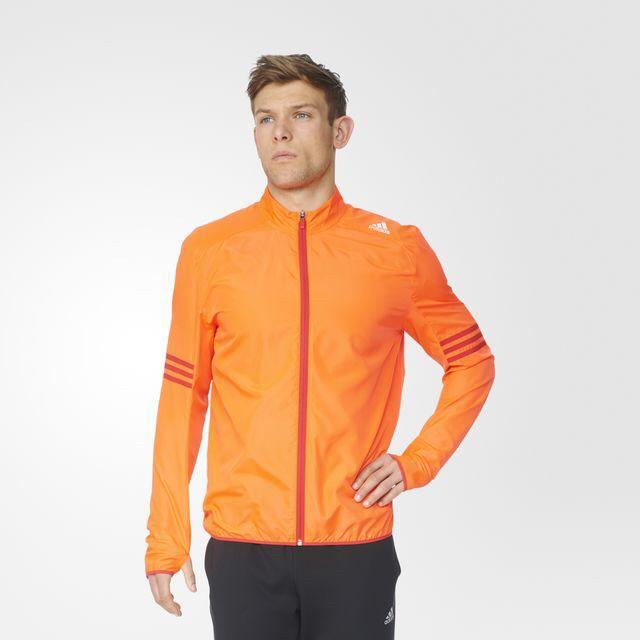 harga Adidas men response wind jacket orange original Tokopedia.com