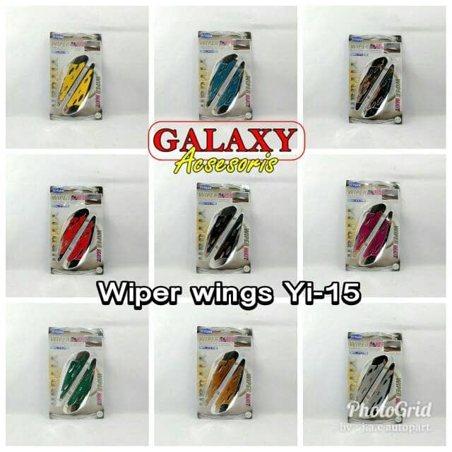 Variasi Wiper Wing Type Yi-15 (2pc)
