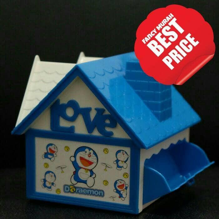 harga (best price) kotak musik rumah celengan frame kitty doraemon princess Tokopedia.com