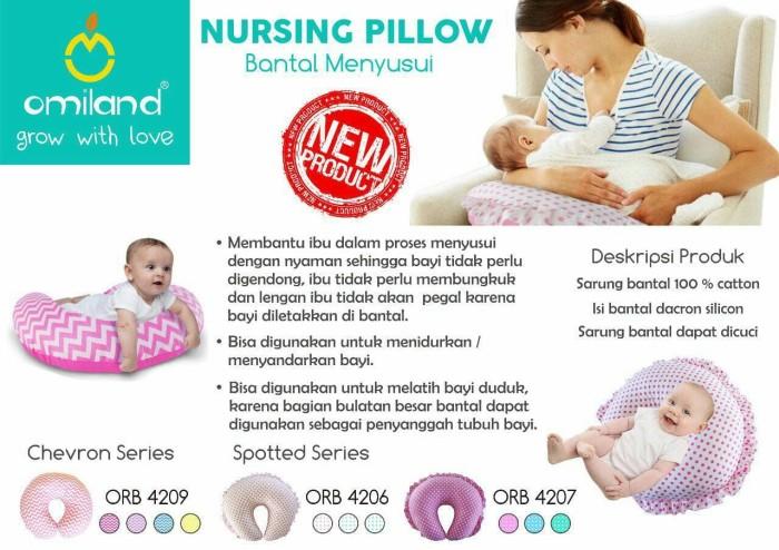 Bantal bayi menyusui tidur pulas nyaman ibu hamil / hadiah / katun