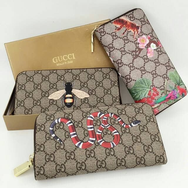 Jual Dompet Gucci Jungle Wallet Dompet Wanita Branded Kwalitas ... c8db128b2f