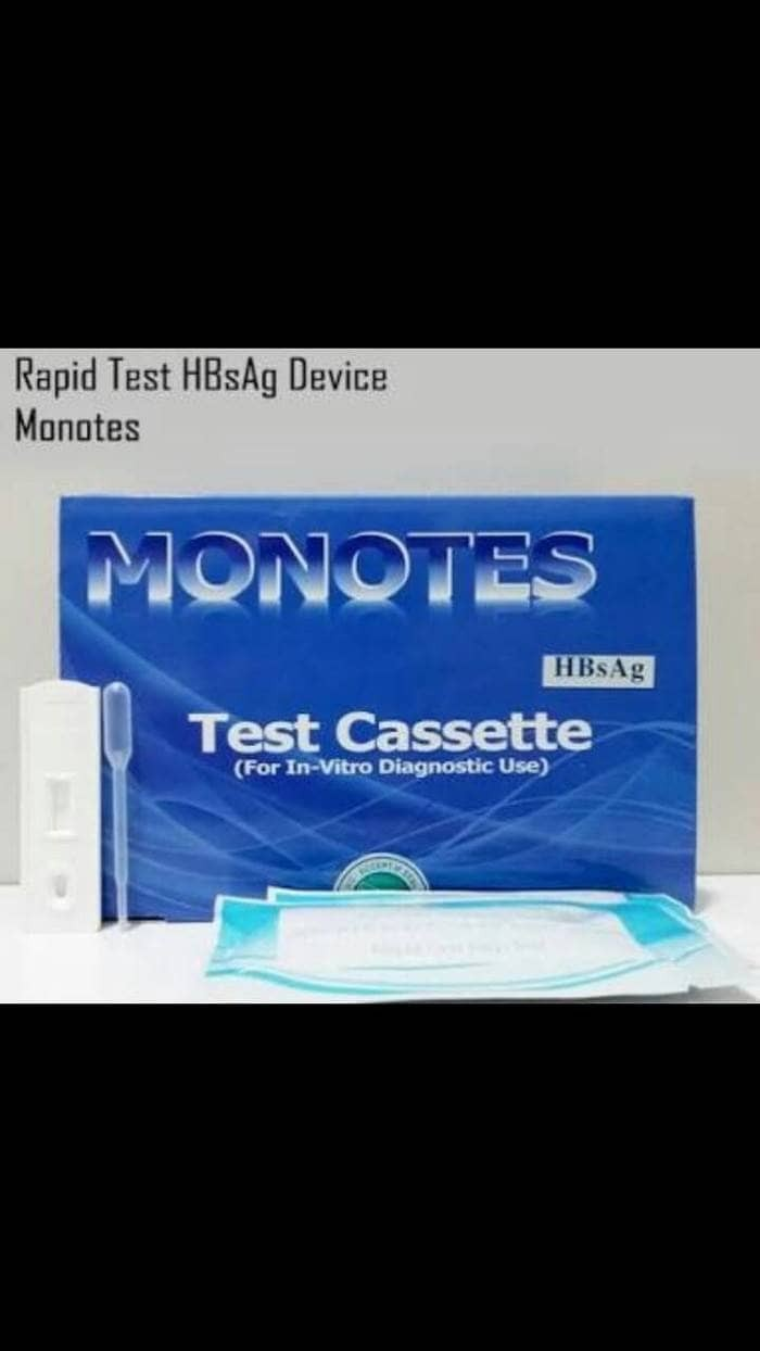 harga Rapid test monotes hbsag device Tokopedia.com