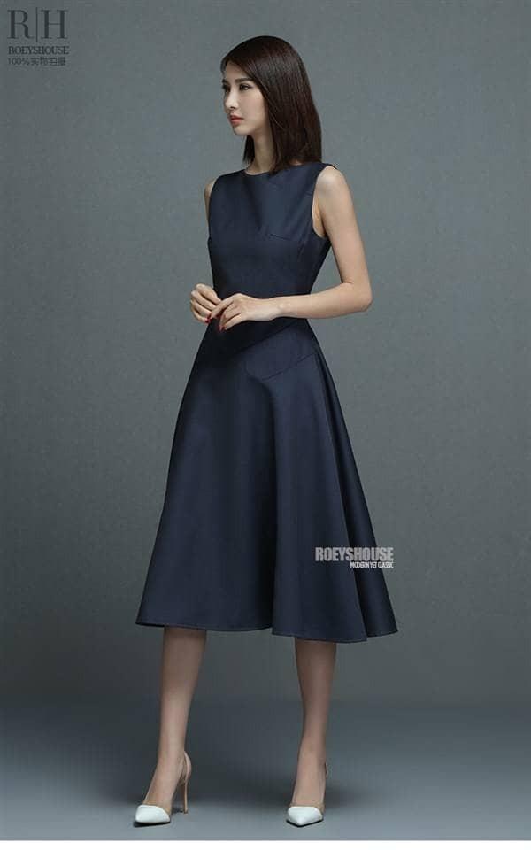 Jual Jual Dress Simple Elegan Wst 18805 Structured Midi Dress Jakarta Utara Star Shopee Tokopedia
