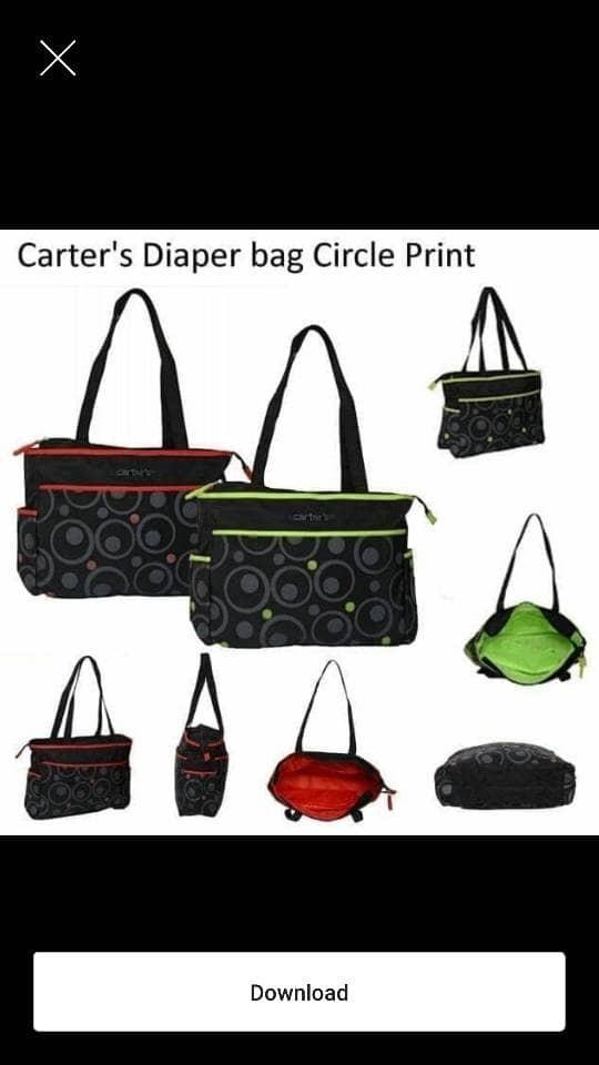 harga Carter diaper bag tas baby tas bayi Tokopedia.com
