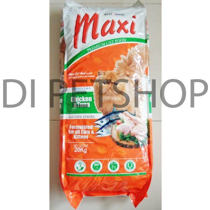 Foto Produk GOJEK makanan kucing maxi cat 20kg / 20 kg Freshpack dari DI PETSHOP
