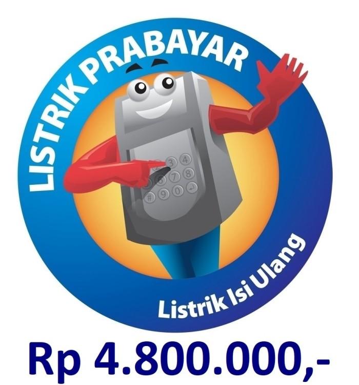 harga [termurah] token listrik pln prabayar 5.000.000 Tokopedia.com