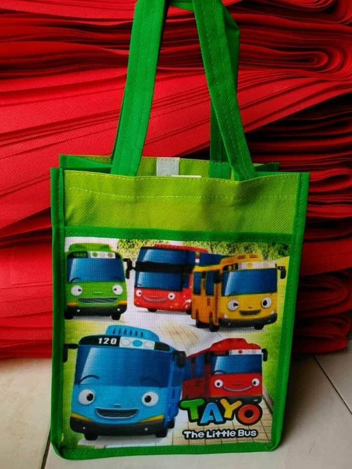 Goodybag kantong TAYO / Tas Souvenir ultah anak
