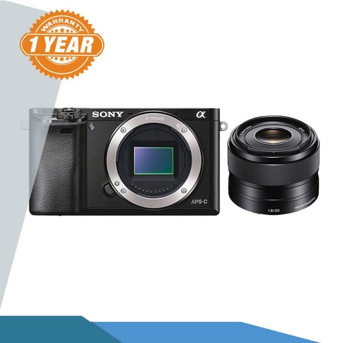 Sony a6000 / alpha 6000 kit 35mm f1.8 kamera mirrorless