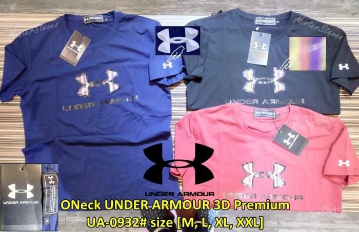 harga Kaos pria branded oneck under armour 3d premium ua-0932# import Tokopedia.com