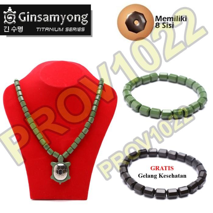 harga Ginsamyong titanium jade powder kura - hijau - serbuk batu giok Tokopedia.com