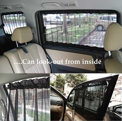 Foto Produk Tirai Tabir Surya - Kaca Jendela Mobil Korden Gorden Pelindung dari Gufi store