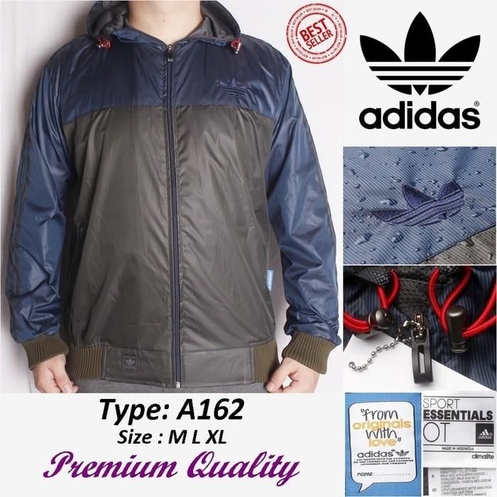 22e1afb37 Jual TERBAIK!!Jaket Adidas Firebirds/Tracktop Waterproof Hit Murah ...