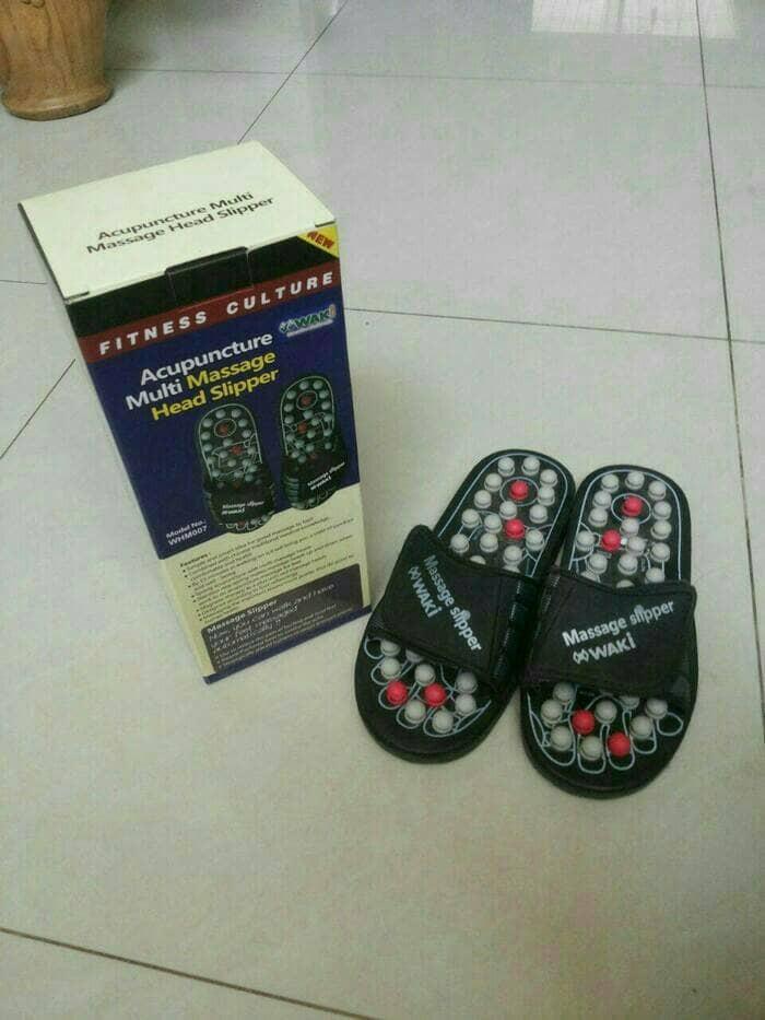 Sandal Terapi Sandal Terapi Kesehatan Pijat Waki Akupuntur Acupunctur