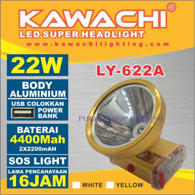 harga Senter kepala 22watt body alumunium ly 622a kawachi Tokopedia.com