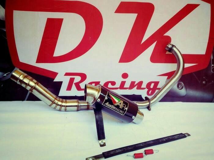 Jual knalpot racing yamaha r15 v3 austin racing fullseries - Kab  Bekasi -  fauzan dunia knalpot | Tokopedia