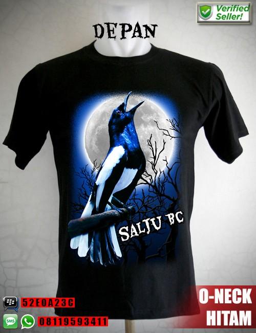 harga Kaos Burung Kacer Full Moon Salju Bc Tokopedia.com