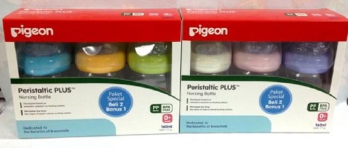 harga Pigeon botol wide neck peristaltik plus 160ml buy 2 get 1 Tokopedia.com