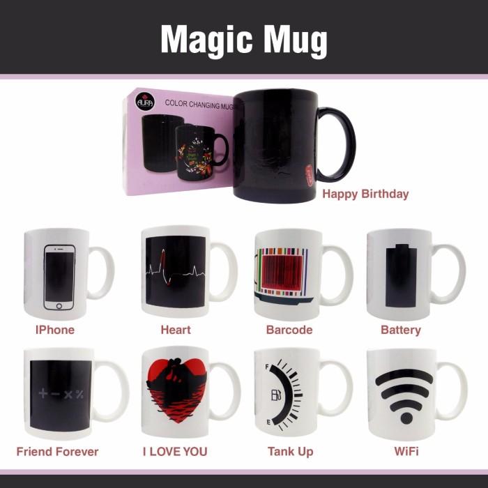 harga Magic mug / mug ajaib / gelas ajaib / mug bunglon Tokopedia.com
