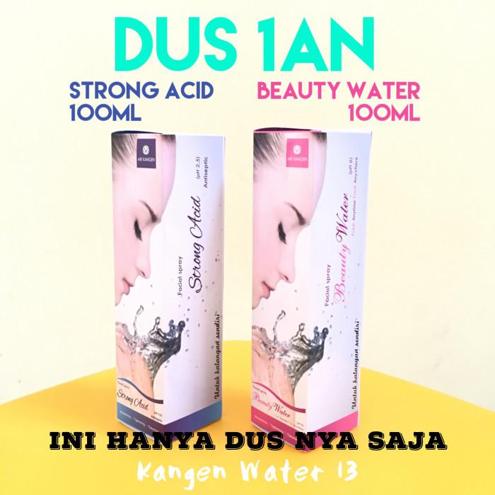 harga Dus 1an 100ml spray strong acid biru beauty water pink air kangen ori Tokopedia.