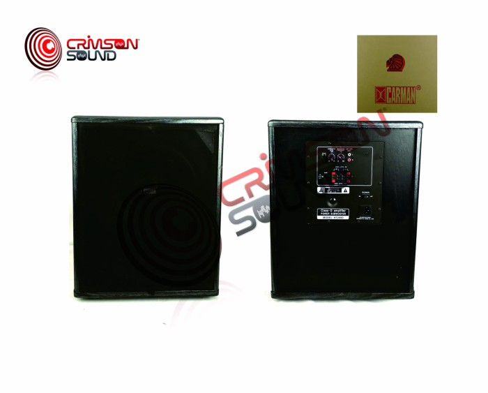 harga Subwoofer karaoke aktif 12 inch carman cm-1222a Tokopedia.com