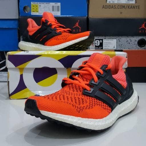 844d1cebaf0b0 Jual Adidas Ultra Boost 1.0 Solar Red - Uptownkicks