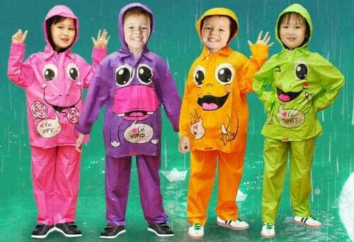 harga Jas hujan anak kido /jas hujan anak tk sd setelan baju celana Tokopedia.com