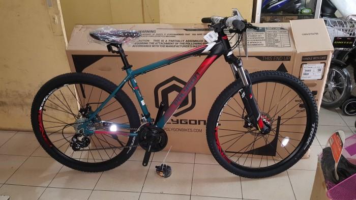 Jual Sepeda 27.5 MTB POLYGON CASCADE 4 Terbaru OPERAN GIGI