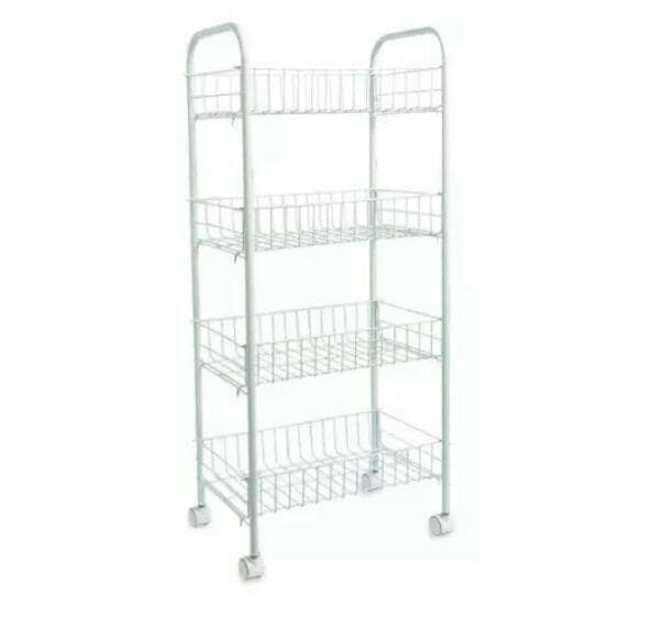 harga Kitchen rak/trolley/troly/kitchen trolley/rak 4 susun Tokopedia.com