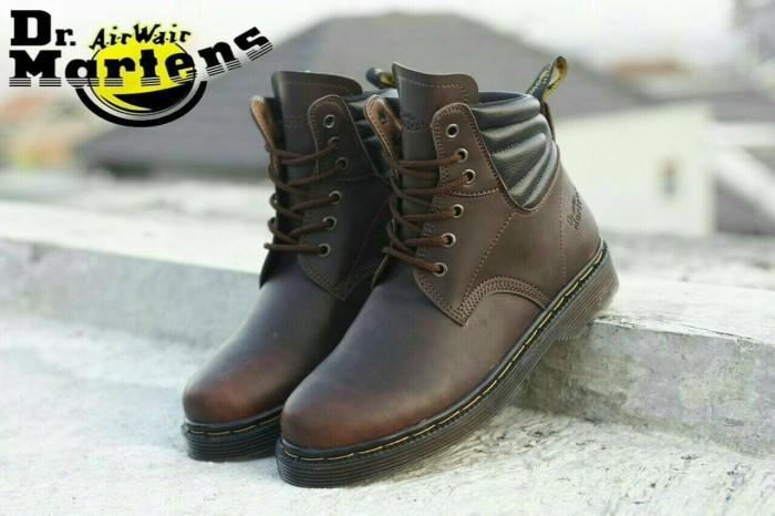 harga Sepatu boot docmart 6 hole dr martens hightif boots pria size 39 - 44 Tokopedia.com