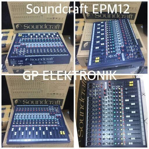 harga Audio mixer soundcraft epm12 Tokopedia.com