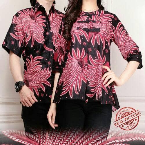 Foto Produk dilla couple blouse kemeja batik dari Angelsammy shop