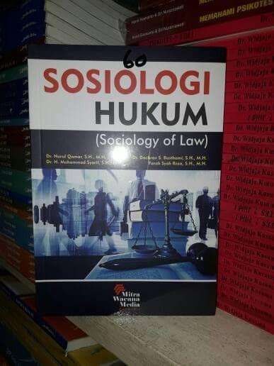 Foto Produk Sosiologi Hukum (Sociology of Law) dari TB. PABONA