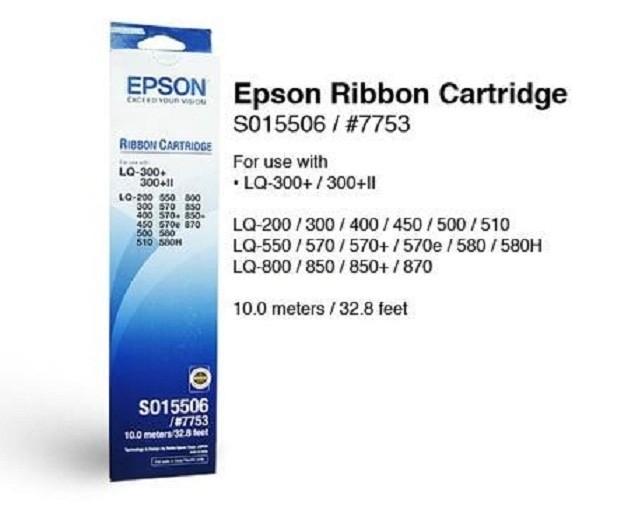 Foto Produk Ribbon / Pita Epson S015506 (# 7753) - Original dari ComputerIndonesia
