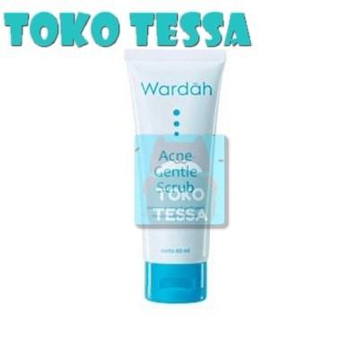 WARDAH ACNE GENTLE SCRUB - TOKO TESSA