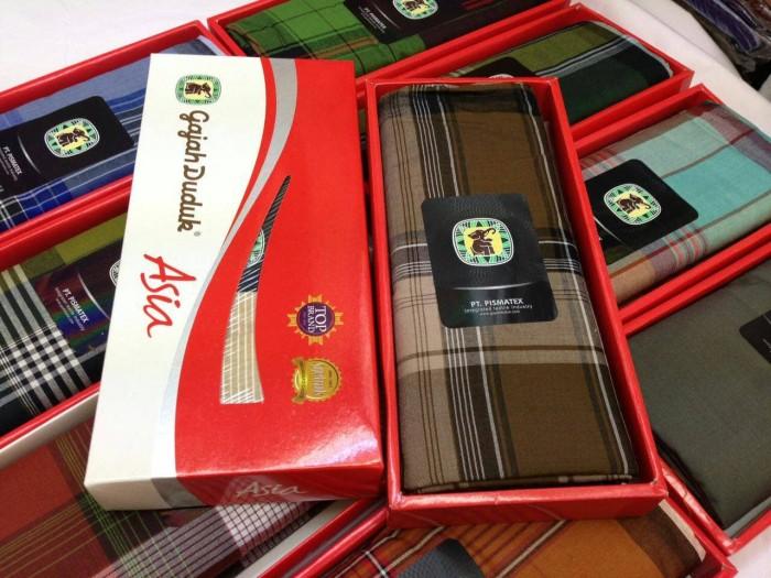 Foto Produk KAIN SARUNG TENUN -GAJAH DUDUK ASIA dari Pasar Tenabang Online