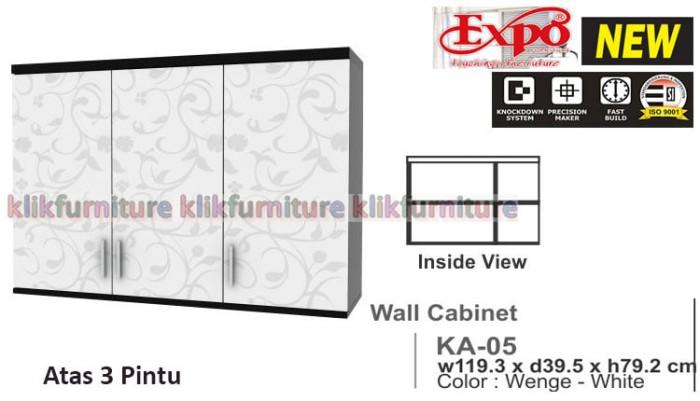 Jual Ka 05 Expo Kitchen Set Atas 3 Pintu Klikfurniture Tokopedia