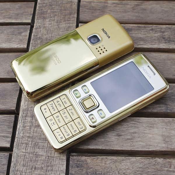 Nokia 6300 GOLD Original Garansi