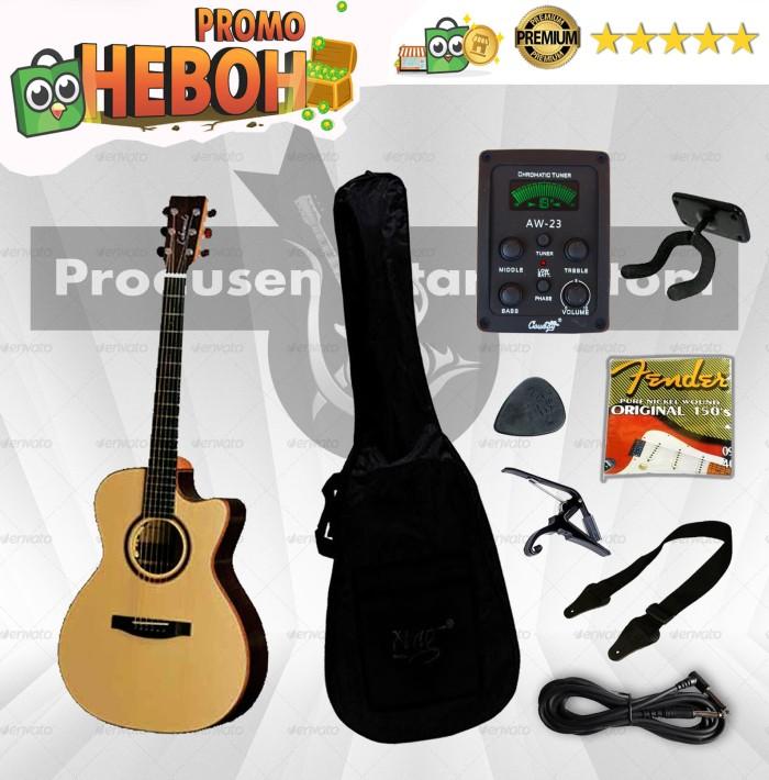 harga Paket gitar lakewood akustik elektrik ( gitar sungha jung) Tokopedia.com