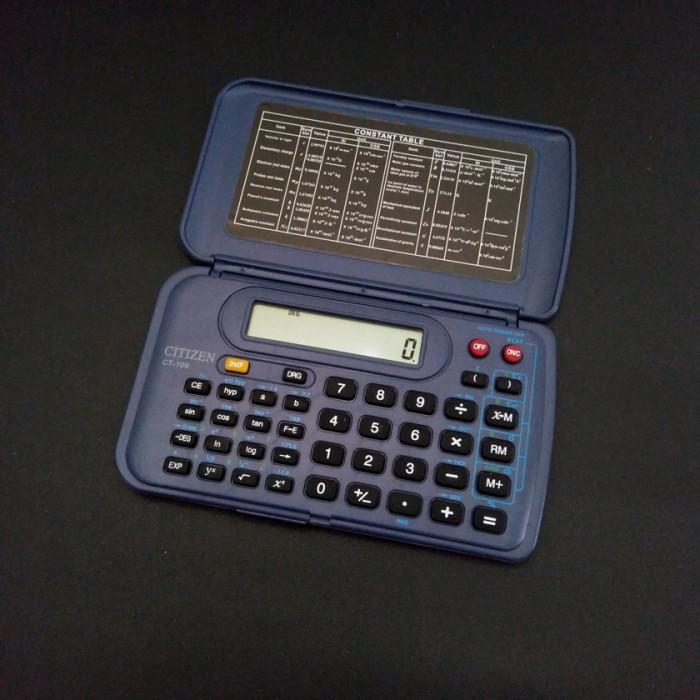 harga Kalkulator citizen ct-109 scientific calculator kantong saku murah Tokopedia.com
