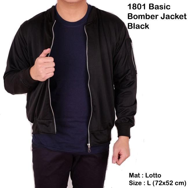 Jual jaket pria bomber   sweater cowok   jaket bomber pria polos ... 3721c5a72f