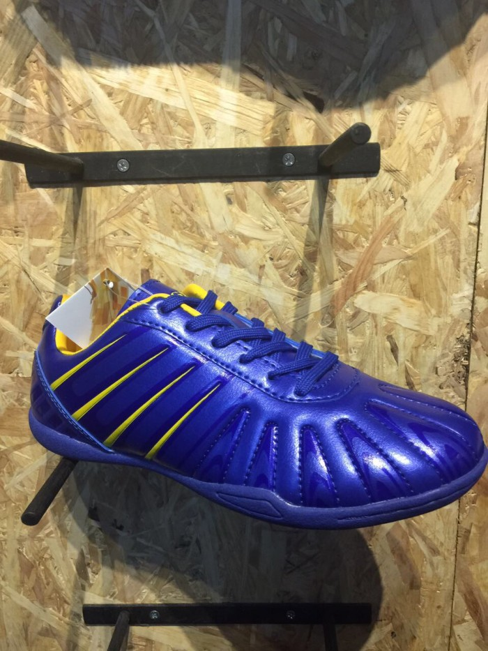 Sepatu futsal junior vegeto jaguar blue new 2017