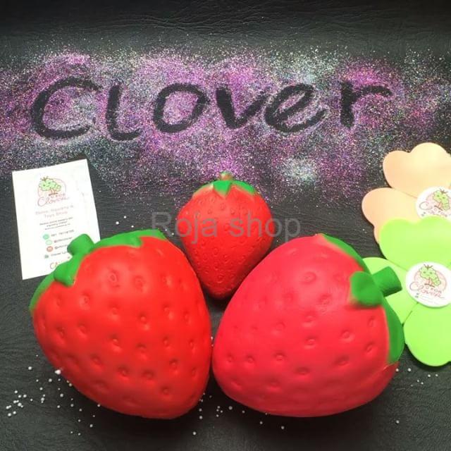 Foto Produk promo STRAWBERRY JUMBO SQUISHY squishi stroberi strawberi replika ibl dari Roja shop