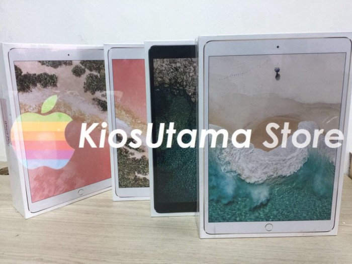 harga [bnib] apple new ipad pro 10.5  4g 2017 256gb wifi cell - space grey Tokopedia.com
