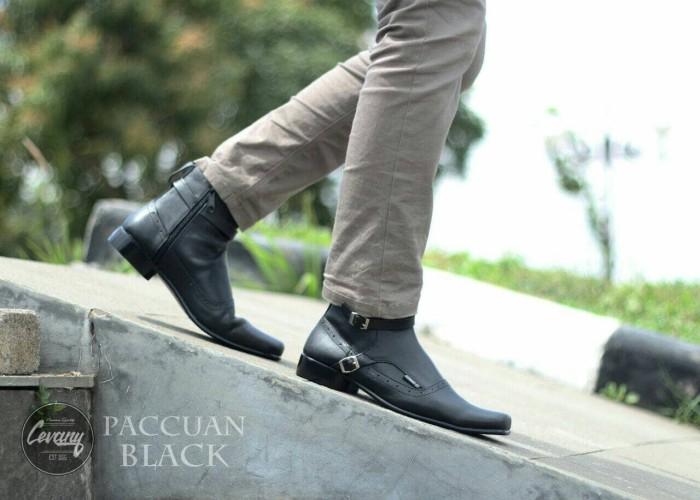 Jual sepatu Boot formal Pria kantoran Pantofel kulit PDH dari Cevany ... 9452b6c90e