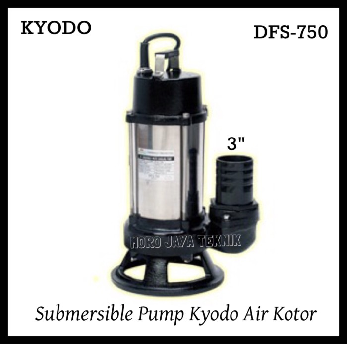 Jual Pompa Celup Kyodo DFS-750 1Hp 3 inch Submersible Pump ...