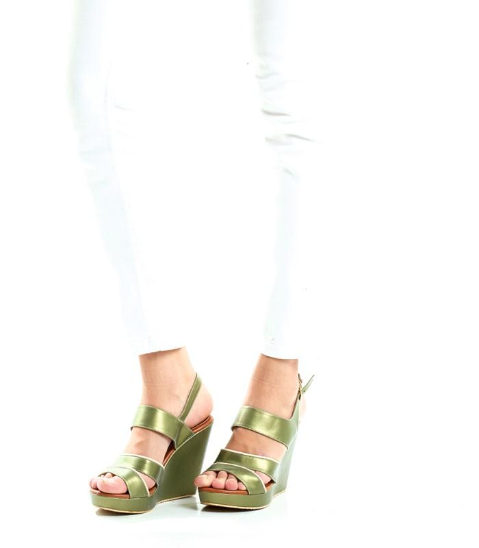 Odele Sandal Green 40 - F0109G240